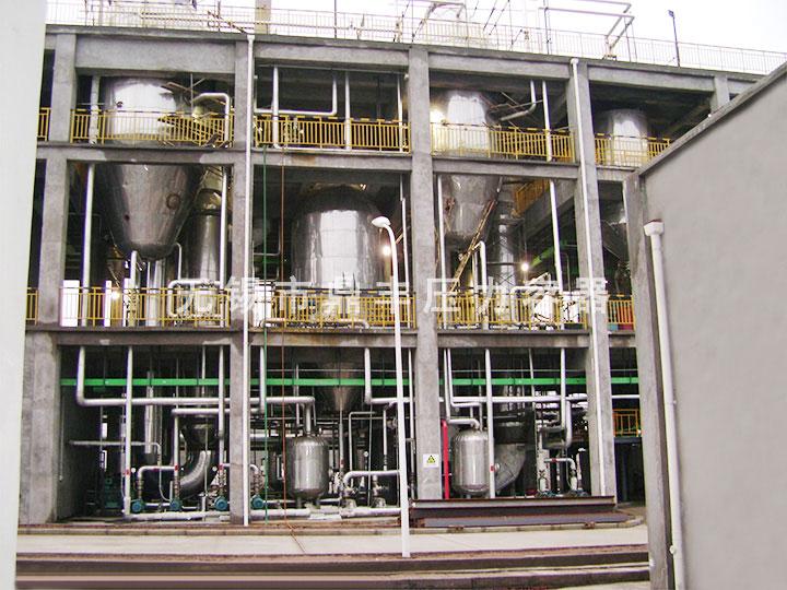 硫酸銨三(san)效(xiao)蒸發(fa)結晶
